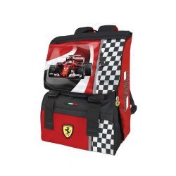 2018, Red, 29x41x14 cm, Ferrari Racer Backpack