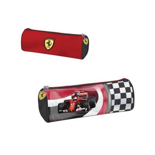 Ferrari Race Car Pencil Case, Red, 2018 - FansBRANDS