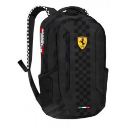 2018, Black, 30x42x20 cm, Ferrari Scudetto Backpack