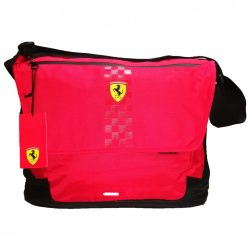 2018, Red, 37x30x13 cm, Ferrari Messenger Shoulder Bag