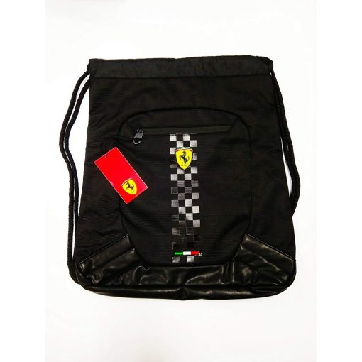 Ferrari Scudetto Pullbag, Black, 2018 - FansBRANDS