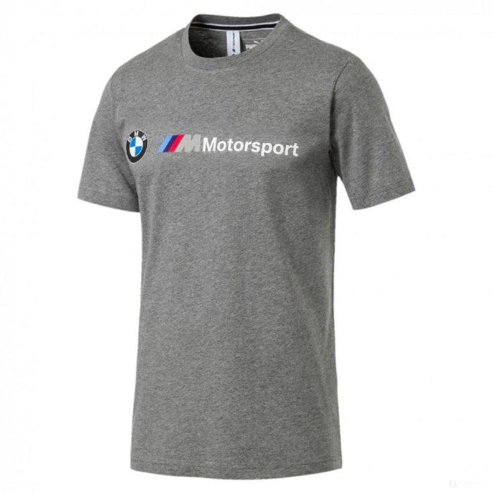 2019, Grey, XL, Puma BMW MMS Logo T-Shirt