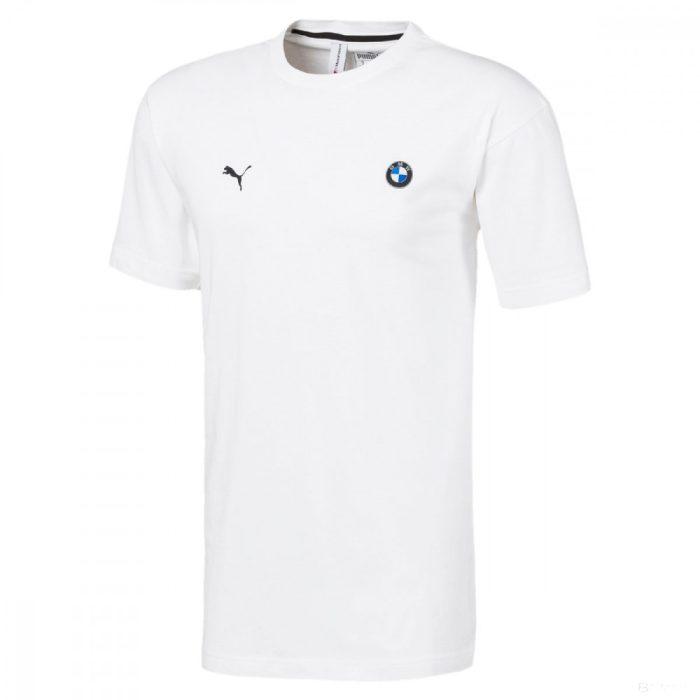 2020, White, Puma BMW MMS Life Graphic Round Neck T-Shirt