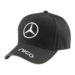 2015, Black, Adult, Mercedes Rosberg Baseball Cap