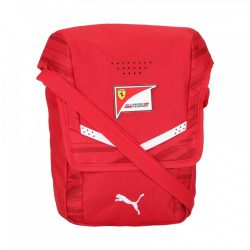 2017, Red, 22x7x25 cm, Puma Ferrari Team Shoulder Bag
