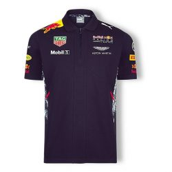 2017, Blue, Red Bull Team Polo