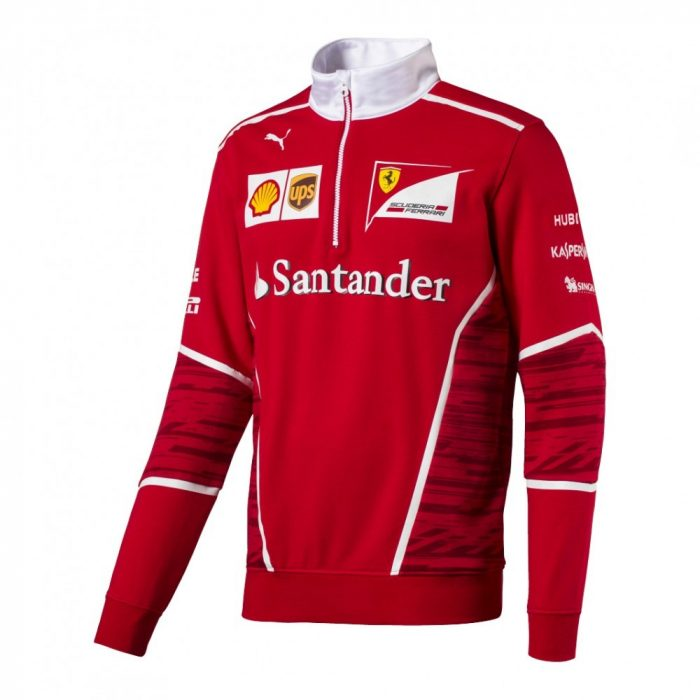 2017, Red, S, Ferrari Team Sweater