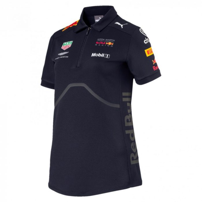 2018, Blue, XXS, Red Bull Womens Team Polo