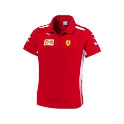 2018, Red, 110, Ferrari Kids Team Polo