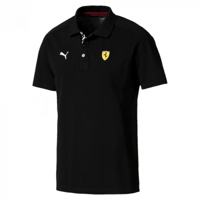 2018, Black, Puma Ferrari Polo