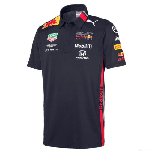 Puma Red Bull Team Polo, Blue, 2019 - FansBRANDS