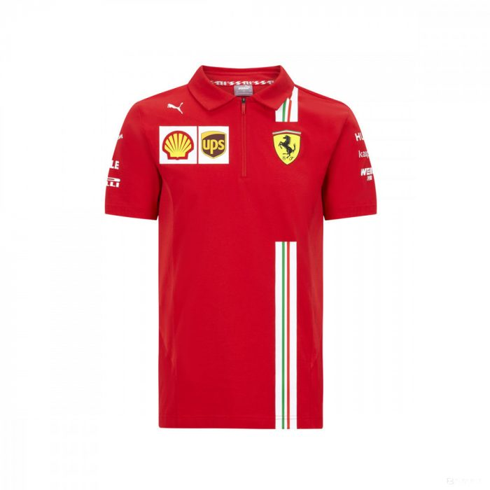 2020, Red, Puma Ferrari Team Polo