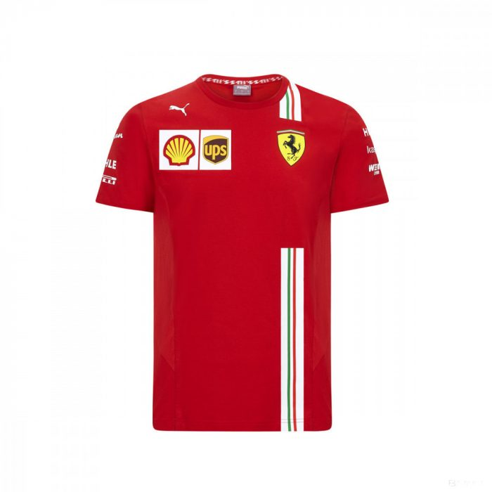 2020, Red, Puma Ferrari Team T-Shirt