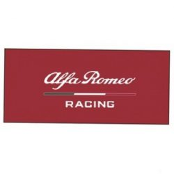 2019, Red, 180x80 cm, Alfa Romeo Team Logo Towel