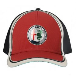 2019, Blue, Alfa Romeo Team Logo Baseball Cap