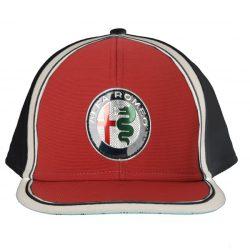 2019, Blue, Alfa Romeo Team Logo Flatbrim Cap
