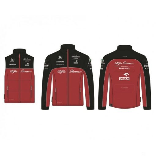 2020, Red, XS, Alfa Romeo 3 in 1 Team Jacket