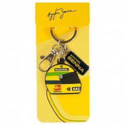 2015, Yellow, Senna 1990 Helmet Keyring