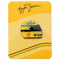 2015, Yellow, Senna 1990 Helmet brooch