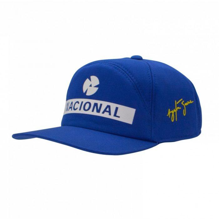 2017, Blue, Adult, Senna Replica Baseball Cap