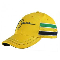 2015, Yellow, Adult, Senna Helmet Baseball Cap