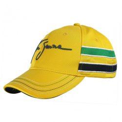 2015, Yellow, Adult, Senna Helmet Baseball Cap