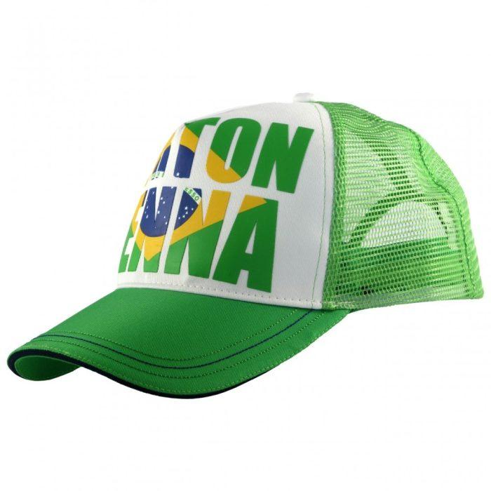 2015, Green, Adult, Senna Brazil Baseball Cap