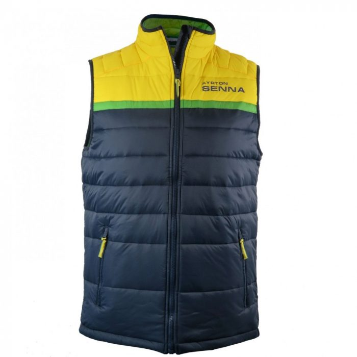 2016, Blue, L, Senna Racing Vest