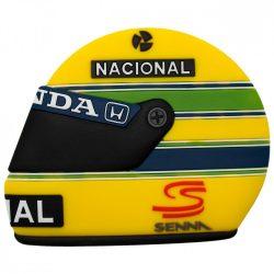 2015, Yellow, Senna Helmet Fridge magnet