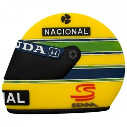 2015, Yellow, Senna Helmet Fridge magnet