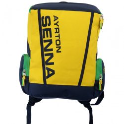 2015, Yellow, 30x44x13 cm, Senna Racing Backpack