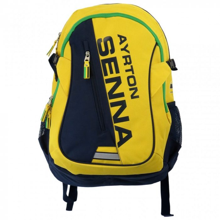 2015, Yellow, 50x31x18 cm, Senna Helmet Backpack