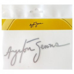 2015, silver, Senna Signature sticker