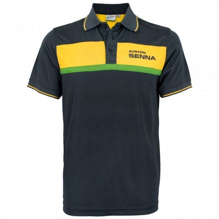 2016, Blue, S, Senna RacShirt Polo