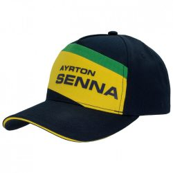 2018, Blue, Adult, Senna Racing II Baseball Cap