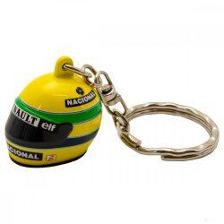 2019, Yellow, Senna 1994 Helmet Keyring