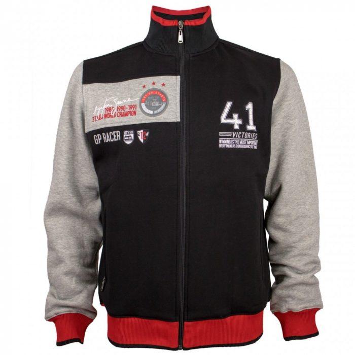 2016, Black, S, Senna 41 Victories Winter Jacket