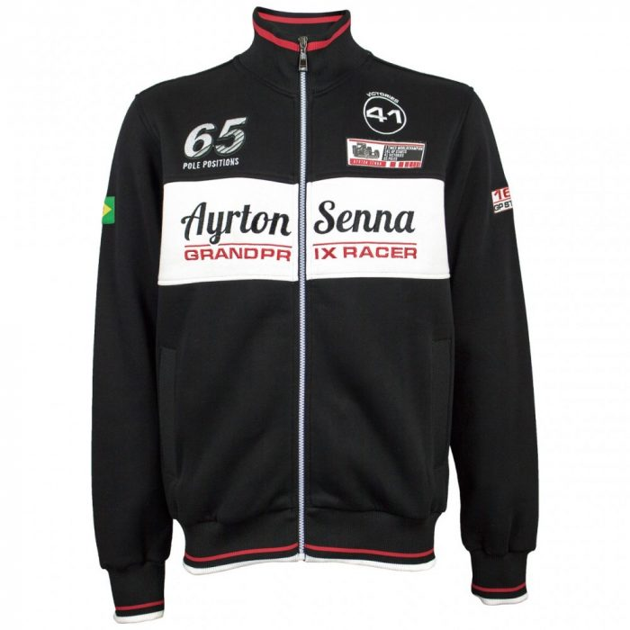 2016, Black, S, Senna GP Racer Winter Jacket