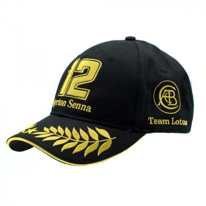 2015, Black, Adult, Senna Lotus Baseball Cap