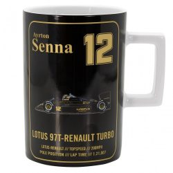 2017, Black, 300 ml, Senna Team Lotus Mug