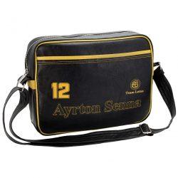 2017, Black, 36x29x9 cm, Senna Lotus Portable Bag