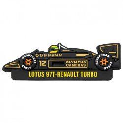 2017, Black, Senna Team Lotus Fridge magnet