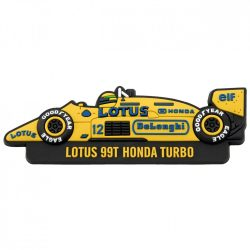 2017, Yellow, Senna Team Lotus 1987 Fridge magnet