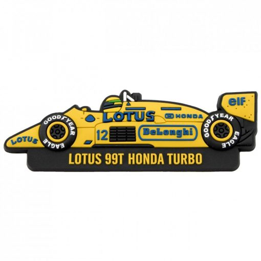 Senna Team Lotus 1987 Fridge magnet, Yellow, 2017 - FansBRANDS