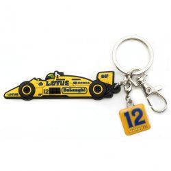 2017, Yellow, Senna Lotus 99T Keyring
