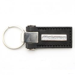 2019, Black, Senna McLaren Leather Keyring