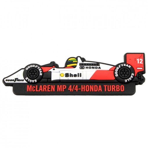 Senna McLaren Fridge magnet, White, 2017 - FansBRANDS