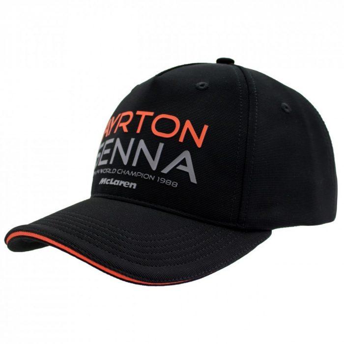 2017, Black, Adult, Senna McLaren Baseball Cap