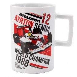 2017, White, 300 ml, Senna McLaren Champion Mug