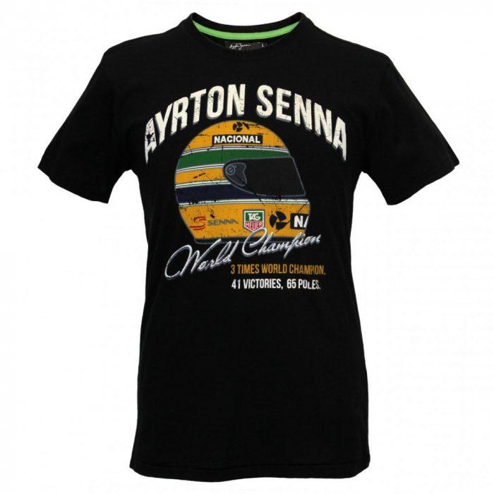 2016, Black, M, Senna Round Neck T-shirt